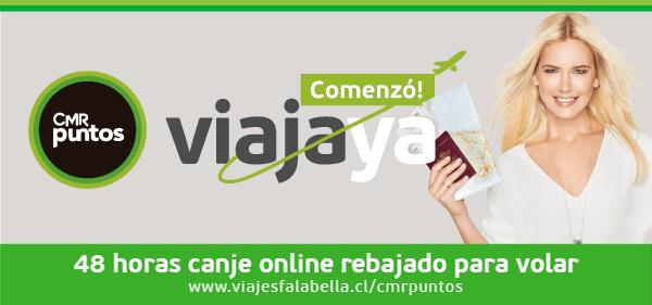 CMR Puntos - Comenzó Viaja ya - 48 horas canje online rebajado para volar